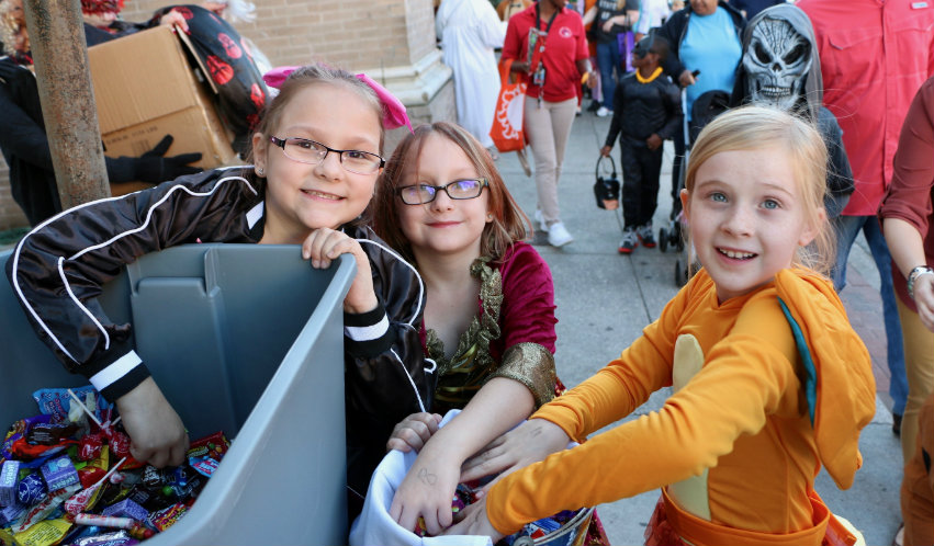 Thousands invade downtown Beaufort in search of tricks or treats