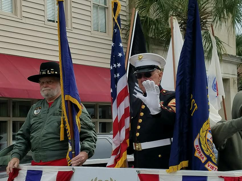 Beaufort honors its veterans