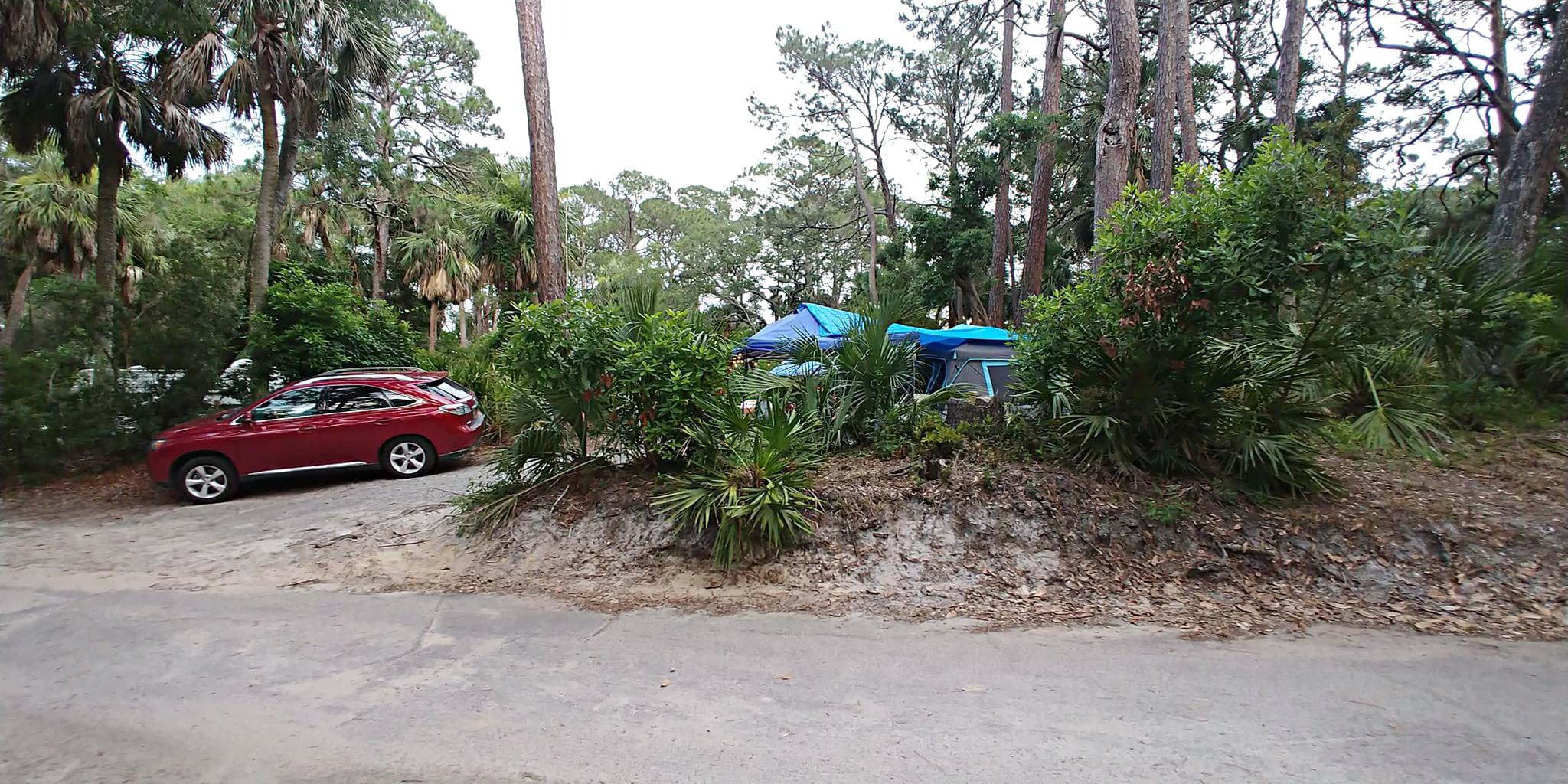 hunting island campground